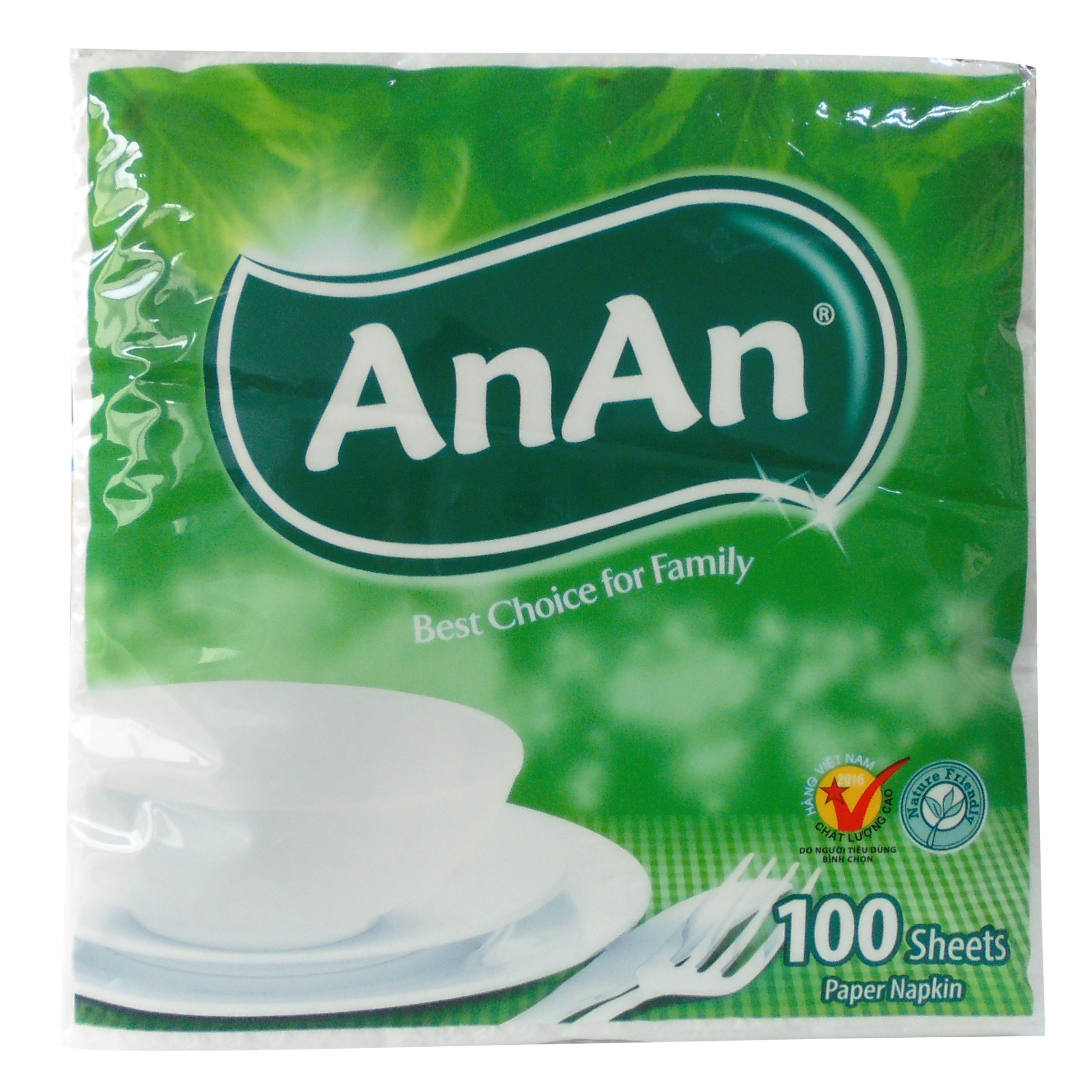 AnAn Pop-Up Napkin Tissue