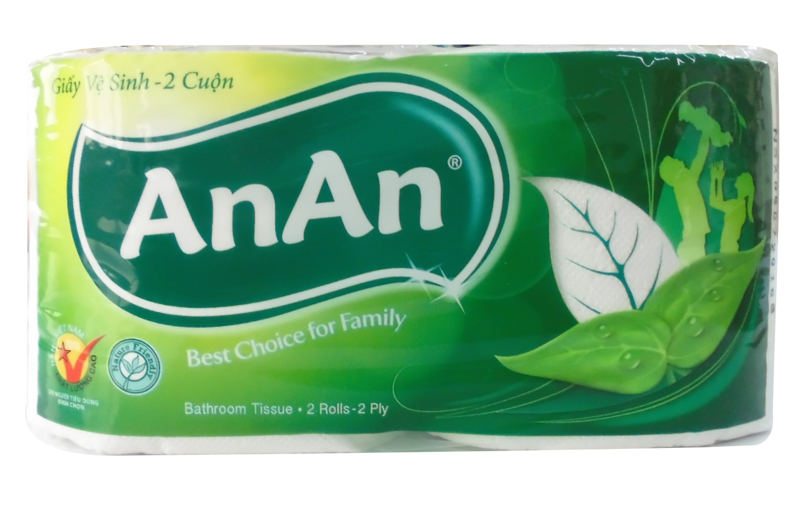 AnAn Bathroom Tissue 2 Rolls x 5
