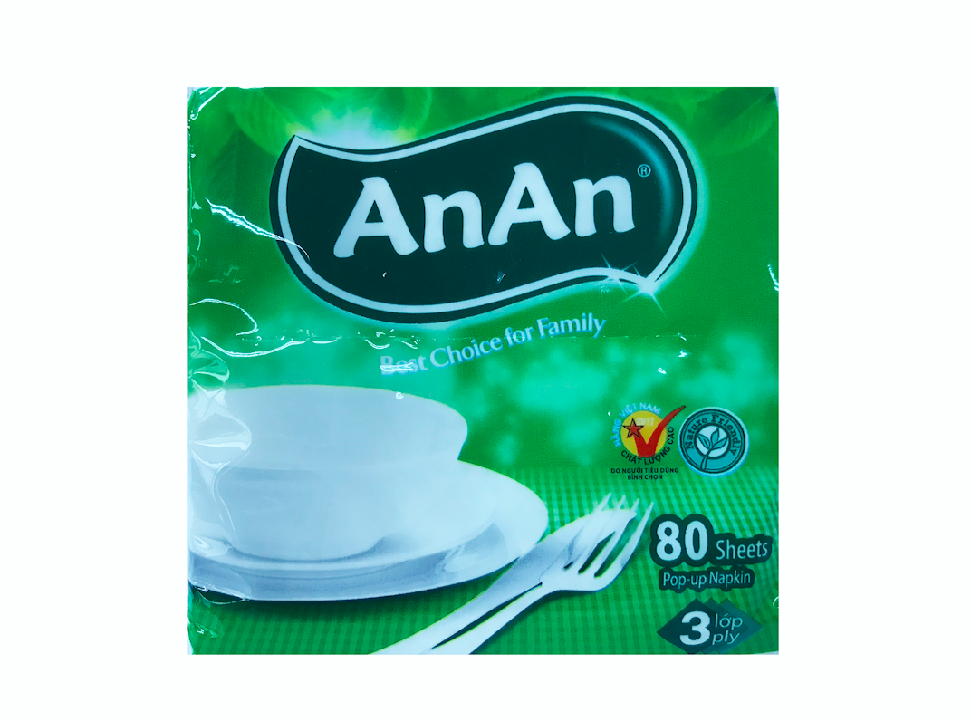 AnAn Pop-Up Napkin Tissue 3 ply